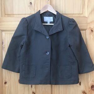 Old Navy quarter sleeve cropped jacket blazer Sz M